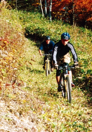 NOASC Shimukappu Mountain Biking