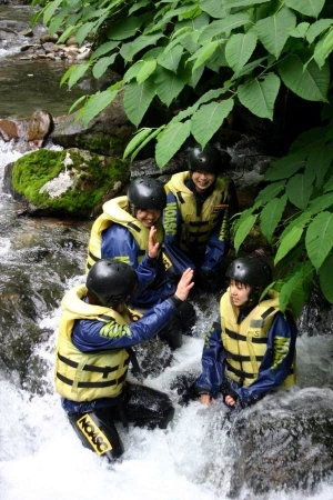 Niseko Canyoning Fun