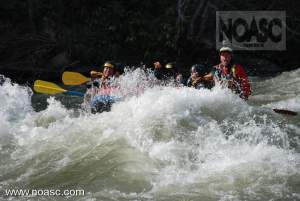NIseko Rafting during Golden week