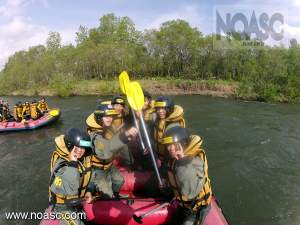 School Rafting Trip in Niseko